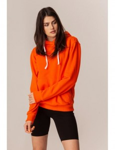 Bluza z kapturem -orange